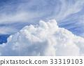 蓝天 蓝蓝的天空 夏天 33319103