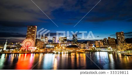 神户 海湾地区 夜景 33319811