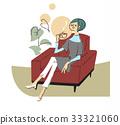 沙发 放松 轻松 33321060