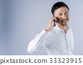 man, mobile, phone 33323915
