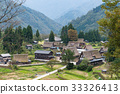 shirakawago, traditional, village 33326413