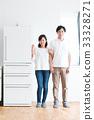 冰箱 新生活 夫婦 33328271