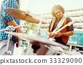 band, guitar, group 33329090