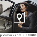Map Pin Location Direction Position Graphic 33330884