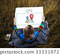 Map Pin Location Direction Position Graphic 33331072