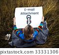 Paper Clip Mail File Attachment Graphic 33331306
