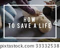CPR Training Demonstration Class Emergency Life Rescue 33332538