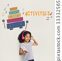 children early education leisure activities music for kids 33332565