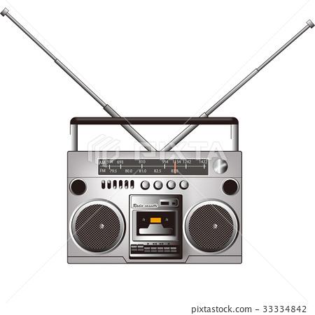录放音机 收放机 音频 33334842