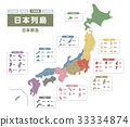 日本群島與縣名(中文版) 33334874