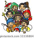 七福神 儿童 孩子 33336864