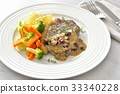 beef steak, meat dish, beef 33340228