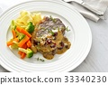 beef steak, meat dish, beef 33340230