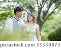 캐주얼 웨딩, 결혼식, 웨딩 33340873
