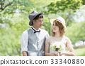 캐주얼 웨딩, 결혼식, 웨딩 33340880