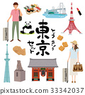 tokyo, touristic, travel image 33342037