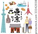 tokyo, touristic, travel image 33342038