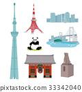 东京 矢量 一套 33342040