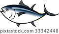 tuna, fish, fishes 33342448
