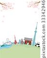 โตเกียว,จุดสนใจ,ดอกซากุระบาน 33342946