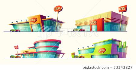 Set of vector cartoon illustrations, various 33343827