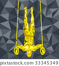 gymnastic rings handstand 33345349
