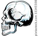 Anatomic Skull Vector Art 33345508