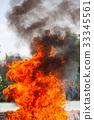 Flame fire movemen. 33345561
