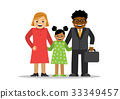Mixed family of different races 33349457