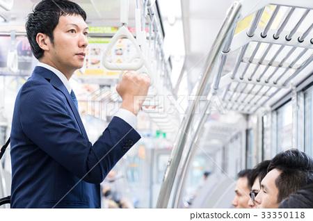 商人,火車,通勤攝影合作:京王電鐵有限公司 33350118