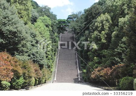 Kyoto Fushimi Momoyama Tombs stairs 33356219