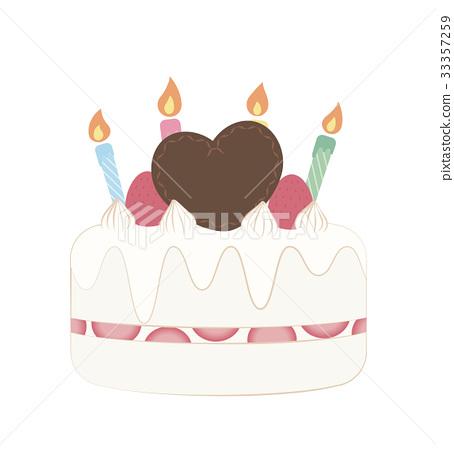 生日蛋糕 裱花蛋糕 慶生 33357259