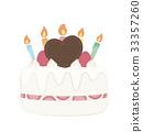 生日蛋糕 裱花蛋糕 慶生 33357260