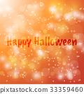 Happy Halloween Vector abstract blur background 33359460