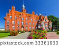 Architecture of city hall in Tczew city, Poland 33361933