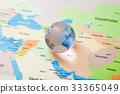 地圖和地球全球圖像 33365049