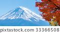 Mount Fuji in Autumn Color, Japan 33366508