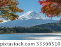 Mount Fuji in Autumn Color, Japan 33366510