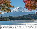 Mount Fuji in Autumn Color, Japan 33366510