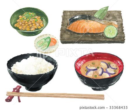 烤魚 食物 食品 33368433