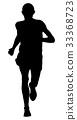 male runner leader 33368723