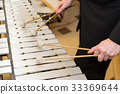xylophone, playing musical instruments concept - 33369644