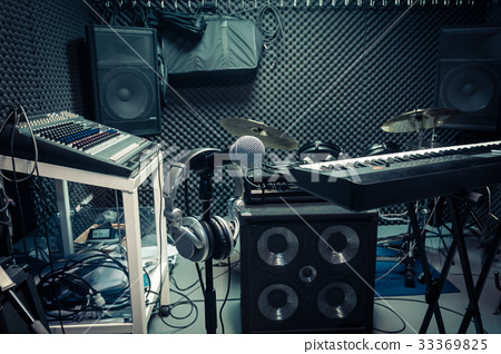 instrument for musician or producer concept . 33369825