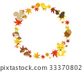 Autumn frame 33370802