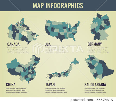 Country maps infographic template. USA, Japan - Stock Illustration on economy map of usa, sports map of usa, learning map of usa, maps map of usa, print map of usa, bing map of usa, diy map of usa, facebook map of usa, stencil map of usa, interactive map of usa, business map of usa, grid map of usa, diagram map of usa, food map of usa, space map of usa, clip art map of usa, media map of usa, travel map of usa, digital map of usa,