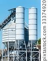 Concrete mixing silo 33374920