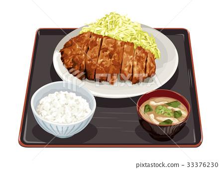 套餐 定食 日式定食 33376230