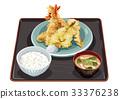 Tempura set menu 33376238