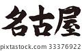 nagoya, calligraphy writing, character 33376922