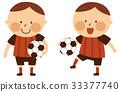 soccer, boy, soccer ball 33377740